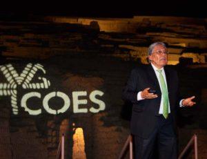 Butrón es reelegido presidente del COES