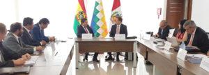 Bolivia y Perú avanzan en el proceso de integración energética