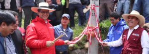 MEM dota de energía eléctrica a 5 mil pobladores de la comunidad campesina de Michiquillay