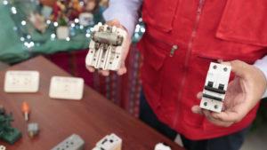 Minem recomienda reemplazar las llaves eléctricas tipo cuchilla para evitar accidentes en el hogar